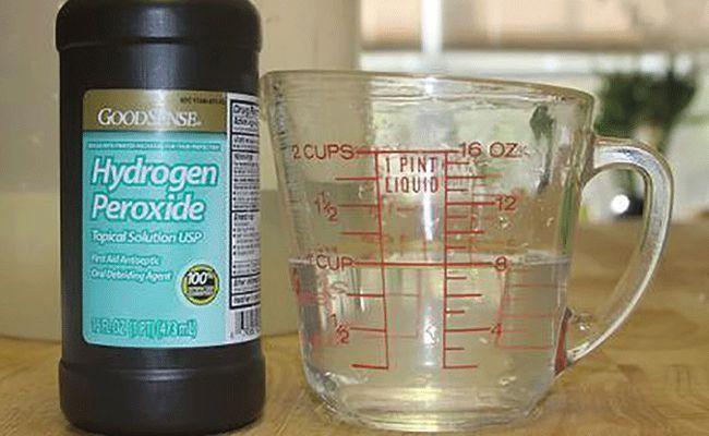Les utilisations possibles du peroxyde d'hydrogène 35