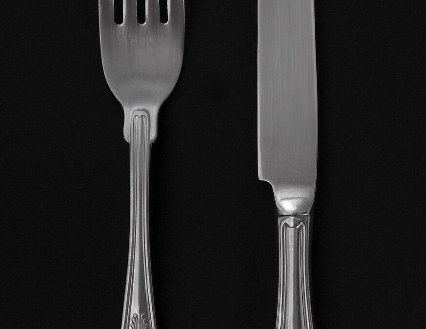 fourchette et couteau